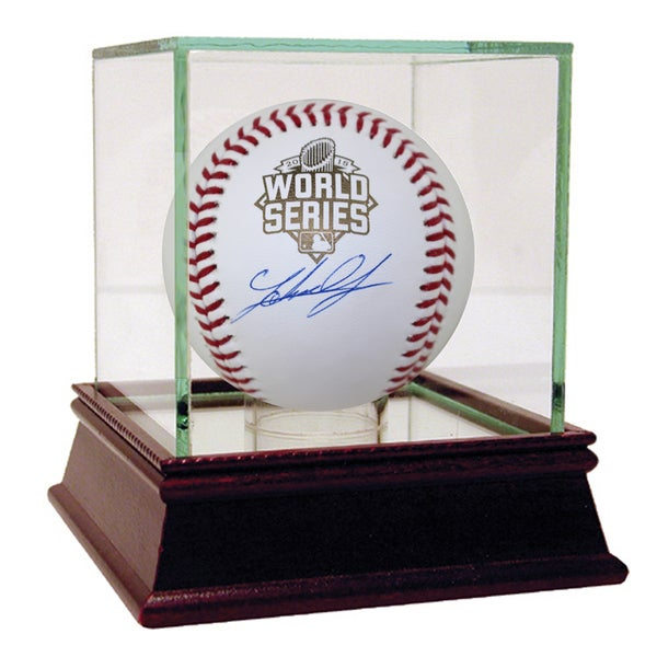 Johnny Cueto Signed 2015 World Series Baseball