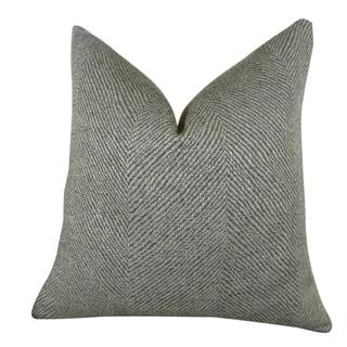 Plutus Enthusiast Tidal Handmade Double-sided Throw Pillow