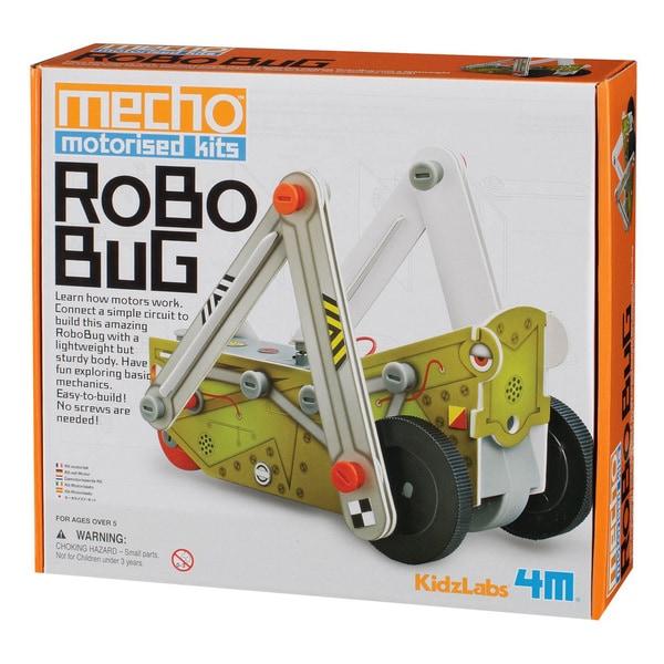 4M KidzLabs Robo Bug Mecho Motorized Science Kit