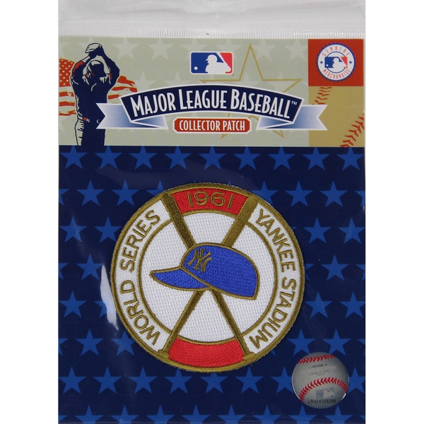 1961 World Series Patch-New York Yankees