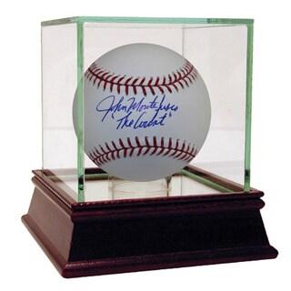 """John Montefusco Signed MLB Baseball w/ """"The Count"""" Insc"""