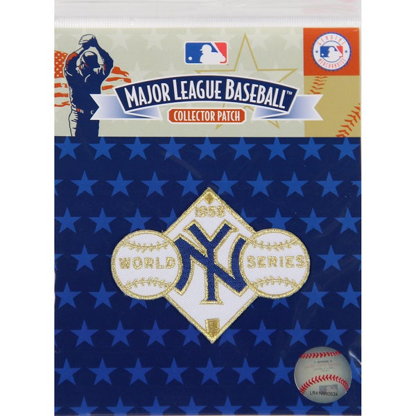 1958 World Series Patch-New York Yankees