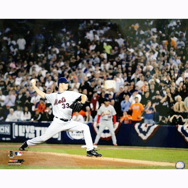 John Maine New York Mets 1st Pitch 2007 Season 16X20