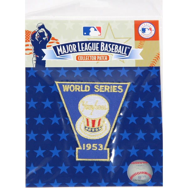 1953 World Series Patch-New York Yankees