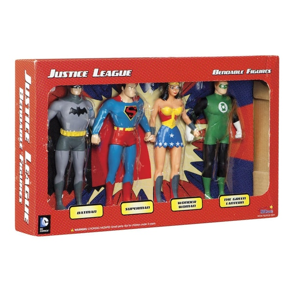 Toysmith Justice League Boxed Superheroes Set 17307630