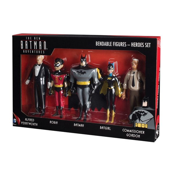 NJ Croce New Batman Adventures Bendable Figure Boxed Set