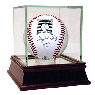 "Gaylord Perry Signed HOF Baseball w/ ""HOF 91"" Insc (MLB Auth)"