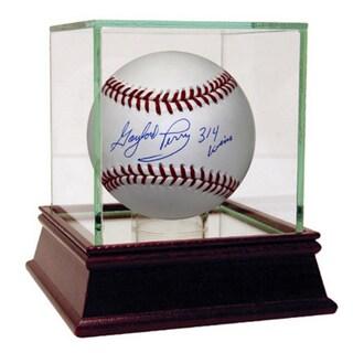 "Gaylord Perry MLB Baseball w/"" 314 Wins"" Insc (MLB Auth)"