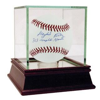 "Gaylord Perry MLB Baseball w/"" 303 CG"" Insc (MLB Auth)"