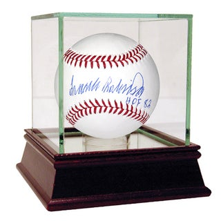 "Frank Robinson MLB Baseball w/ ""HOF"" Insc. (MLB Auth)"