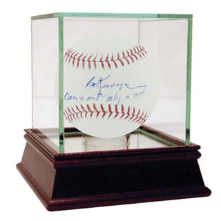 "Ed Kranepool MLB Baseball w/"" Once A Met, Only A Met"" Insc"