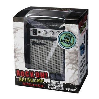 Toysmith Rock On. Retro Amp MP3 Mini Speaker