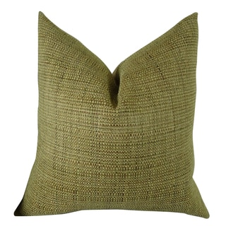 Plutus Kosoff Kelp Handmade Double-sided Throw Pillow