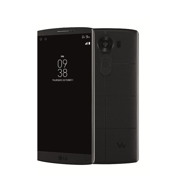 LG V10 H960A 32GB Unlocked GSM 4G LTE Cell Phone With Retail Packaging - Black