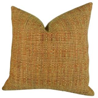Plutus Kosoff Paprika Handmade Double-sided Throw Pillow