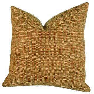 Plutus Kosoff Paprika Handmade Throw Pillow