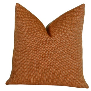 Plutus Lone Oak Cayenne Handmade Double-sided Throw Pillow