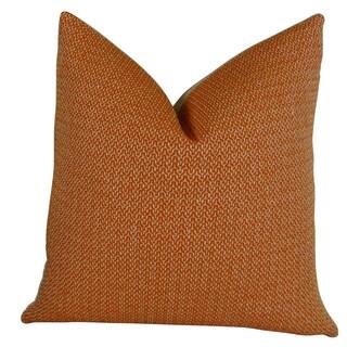 Plutus Lone Oak Cayenne Handmade Throw Pillow