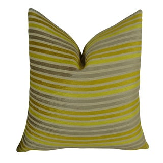 Plutus Fork Valley Handmade Double-sided Throw Pillow