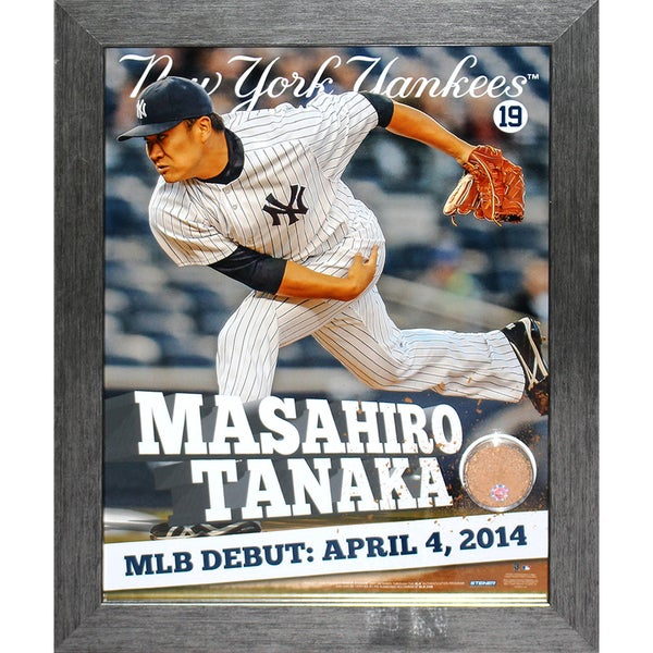 Masahiro Tanaka Vertical 11x14 Framed Photo Dirt Collage 17308852