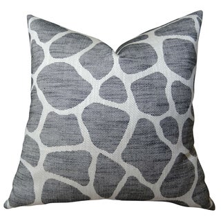 Plutus Rocky Way Onyx Handmade Double-sided Throw Pillow