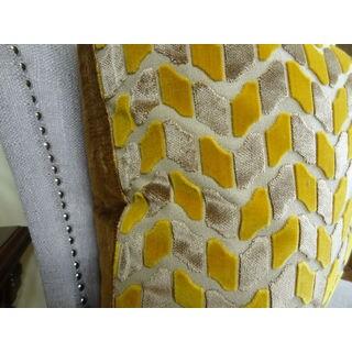 Plutus Velvet Rope Handmade Double-sided Throw Pillow