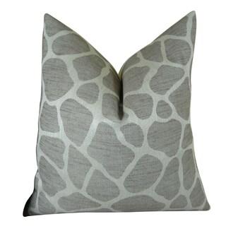 Plutus Rocky Way Handmade Double-sided Throw Pillow