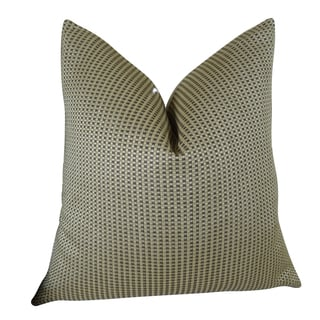 Plutus Triple Weave Handmade Double-sided Throw Pillow