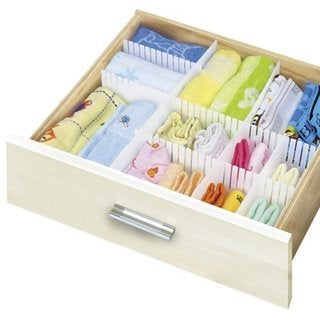 Slotted Inerlocking Drawer Organizer (Set of 3)