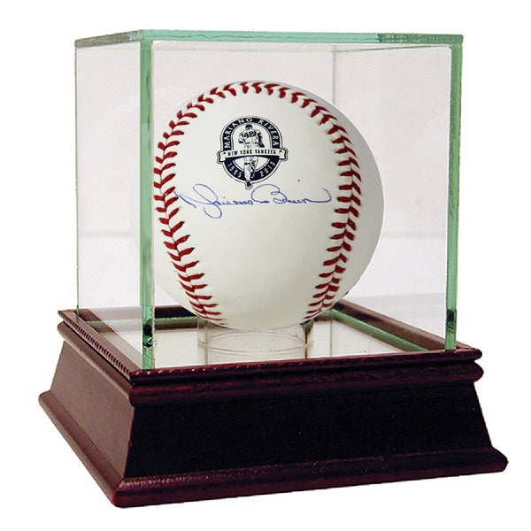 Mariano Rivera Signed Retirement Logo Baseball