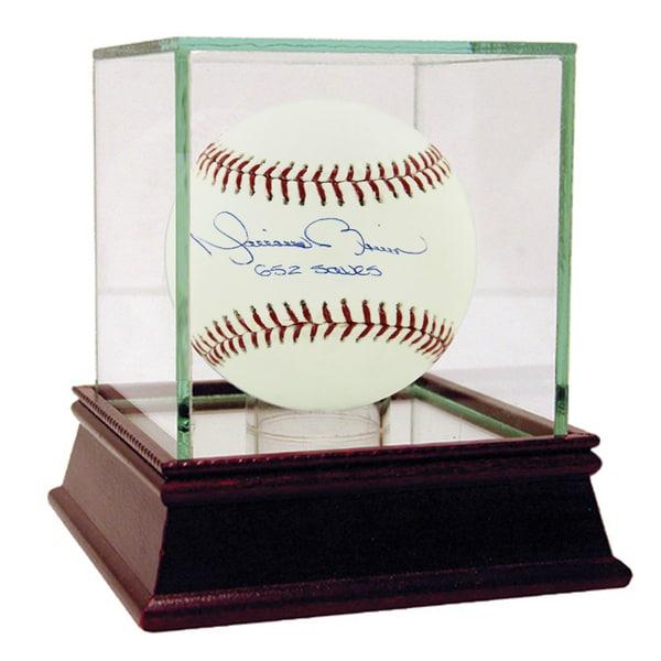 Mariano Rivera Signed MLB Baseball w/ 652 Saves Insc.