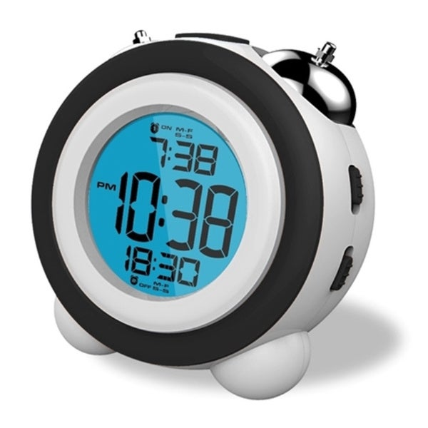 Sonnet Atomic Mechanical Bell LCD Alarm Clock