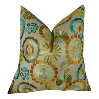Plutus Electron Handmade Throw Pillow