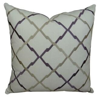 Plutus Lyford Handmade Double-sided Throw Pillow
