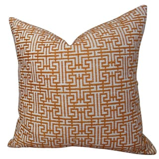 Plutus Maze Handmade Double-sided Throw Pillow