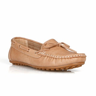 Com Feite Jamaica-03 Bow Tie Women's Flat Loafers