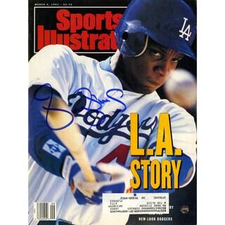 Darryl Strawberry Signed 3/4/91 Sports Illustrated Magazine