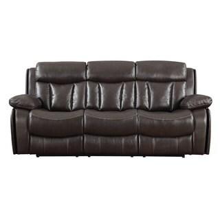 LaGrange Full Top Grain Leather Power Motion Sofa