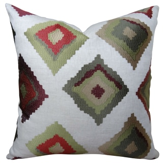 Plutus Red Earth Native-Trail Handmade Double Sided Throw Pillow