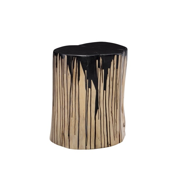 Aurelle Home Dawson Stool Black