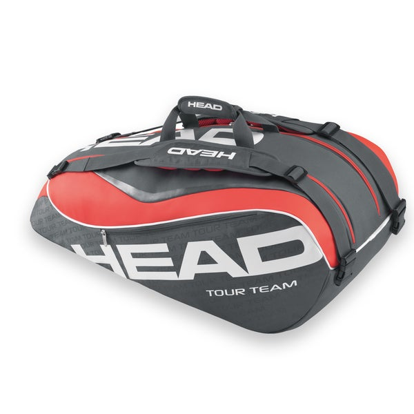 Head Tour Team Supercombi 9 Pack Charcoal Tennis Bag