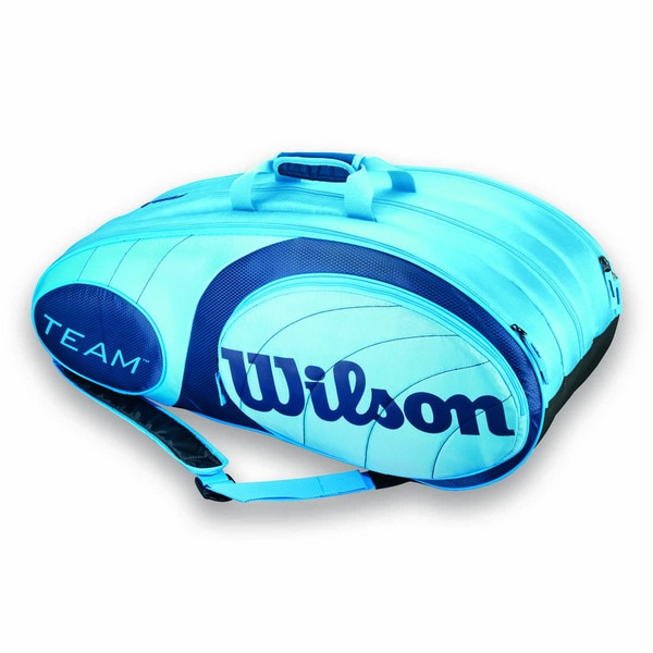 Wilson Team 12 Pack Tennis Bag - Blue