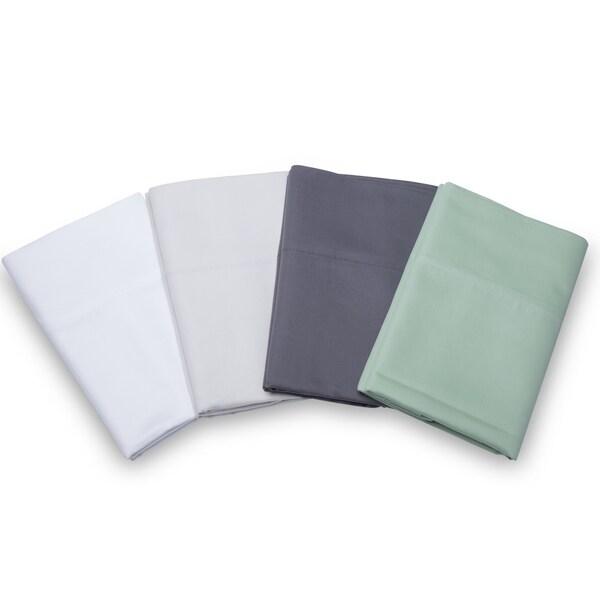 Long-staple Solid 700TC Egyptian Cotton Pillowcase (Set of 2)