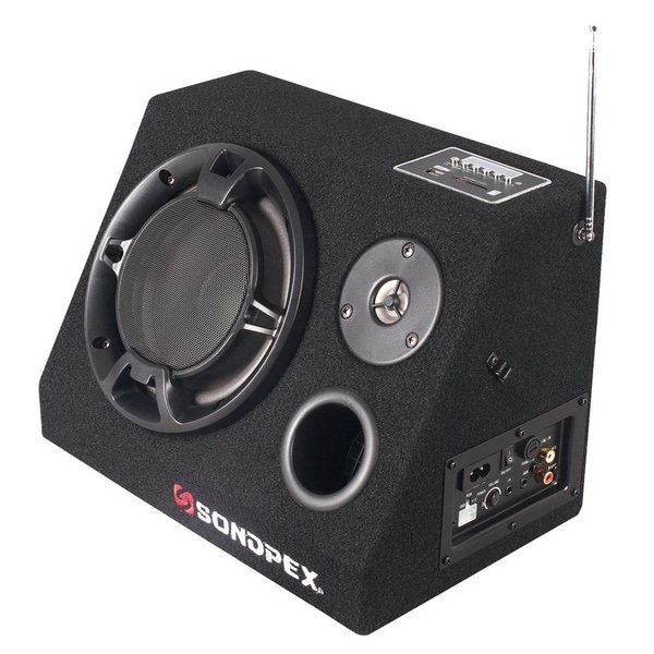 Sondpex Bluetooth Active Speaker System with AM/FM Radio and Digital Player