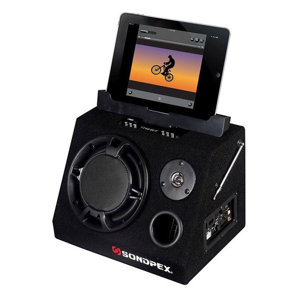 Sondpex All-Purpose Active Speaker System and Music Player