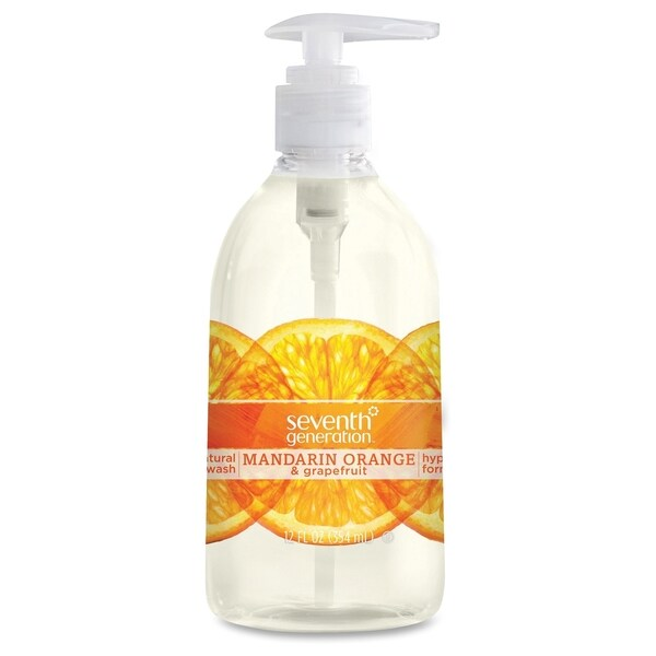Seventh Generation Natural Purifying Mandarin Hand Wash - (1 Each)
