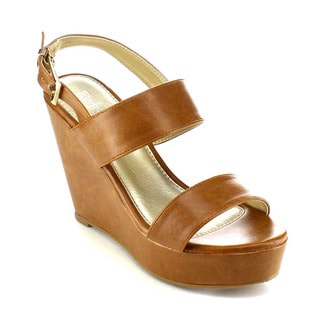 Beston AB36 Women's Slingback Wedges
