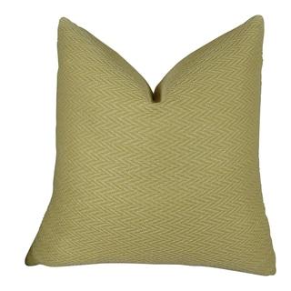 Plutus Nesting Zigzag Handmade Throw Pillow