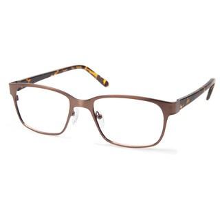 Cynthia Rowley Eyewear CR6006 No. 31 Bronze Rectangle Metal Eyeglasses