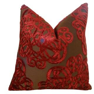 Plutus Archetype Jasper Handmade Double Sided Throw Pillow